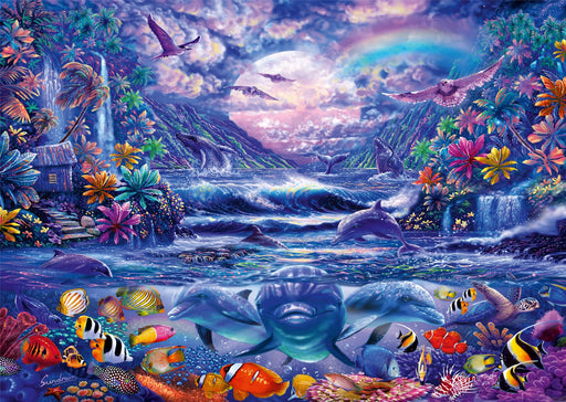 New 2020 - Moonlit Oasis 1000 Piece Jigsaw Puzzle - All Jigsaw Puzzles