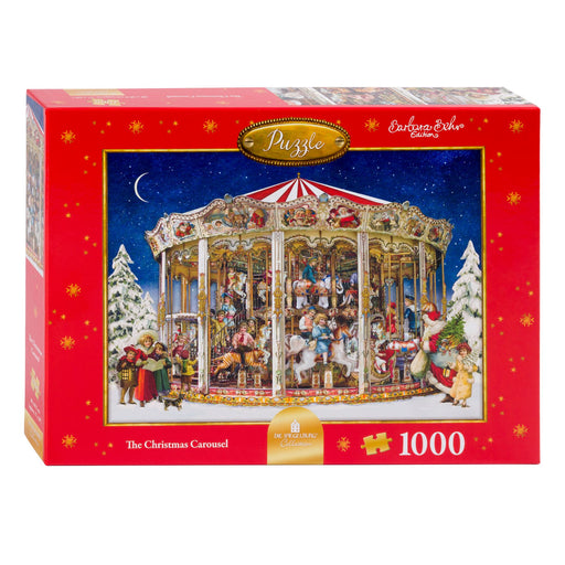 Christmas Carousel - Coppenrath 1000 Piece Jigsaw Puzzle box