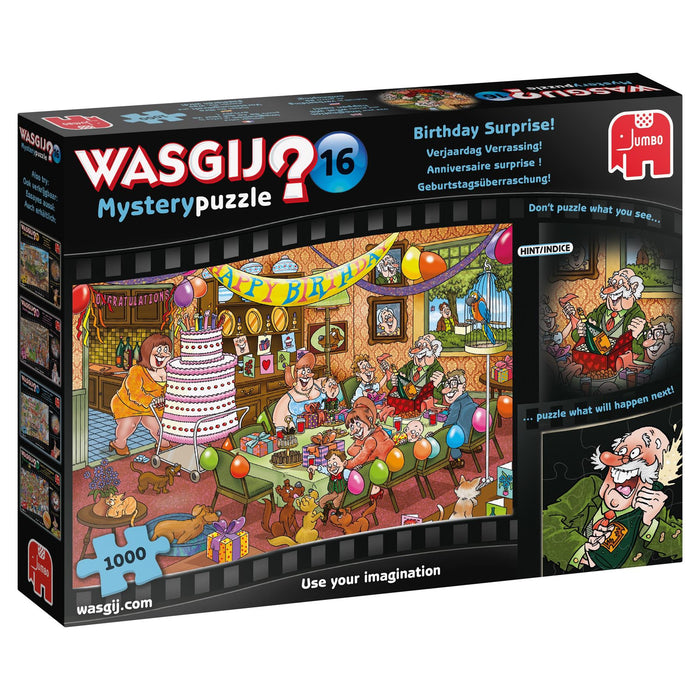 Wasgij Mystery 16 Birthday Surprise 1000 Piece Jigsaw Puzzle - All Jigsaw Puzzles
