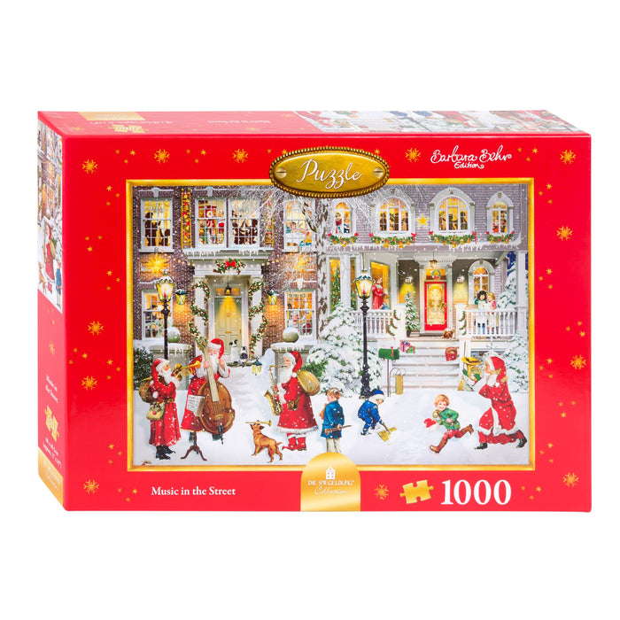 Music in the Street - Coppenrath 1000 Piece Jigsaw Puzzle box