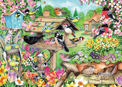 New 2020 -  Falcon de luxe Spring Garden Birds 500 Piece Jigsaw Puzzle - All Jigsaw Puzzles