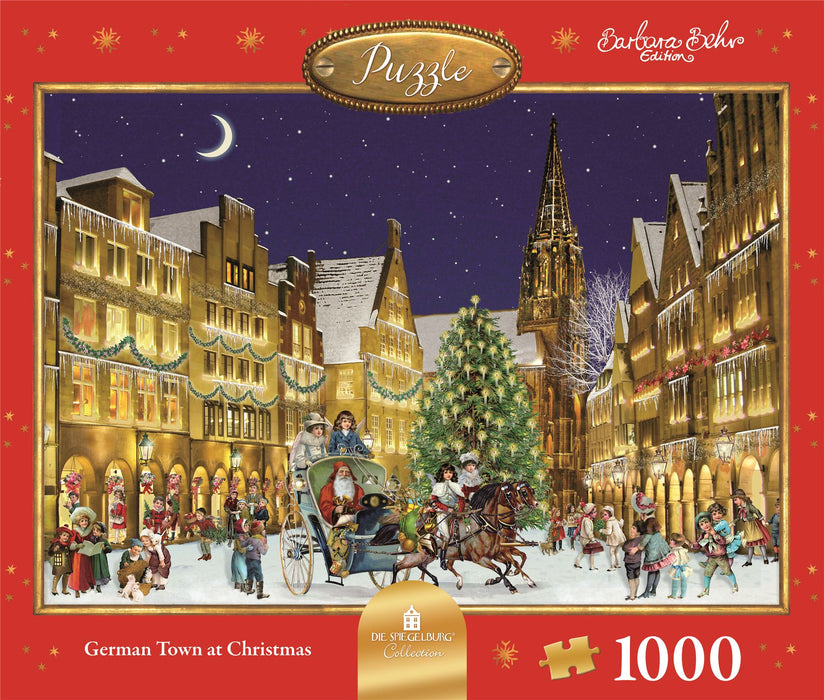 The German Town - Coppenrath 1000 Piece Jigsaw Puzzle front