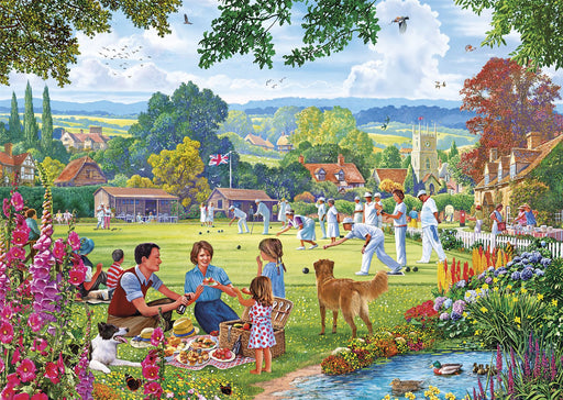 New 2020 Gibsons Bowling by the Brook 500 piece Jigsaw Puzzle - All Jigsaw Puzzles