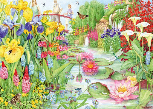 New 2020 -  Falcon de luxe Flower Show: The Water Gardens 1000 Piece Jigsaw Puzzle - All Jigsaw Puzzles