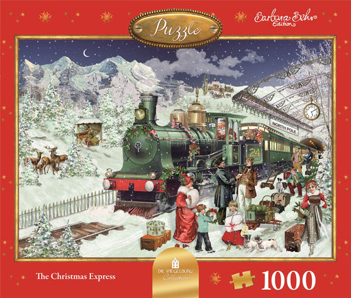 The Christmas Express - Coppenrath 1000 Piece Jigsaw Puzzle front