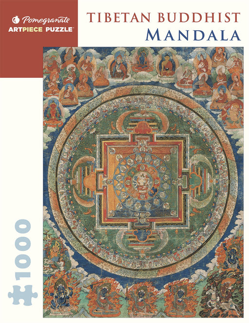 Tibetan Buddhist Mandala - Asian Art Museum of San Francisco 1000 Piece Jigsaw