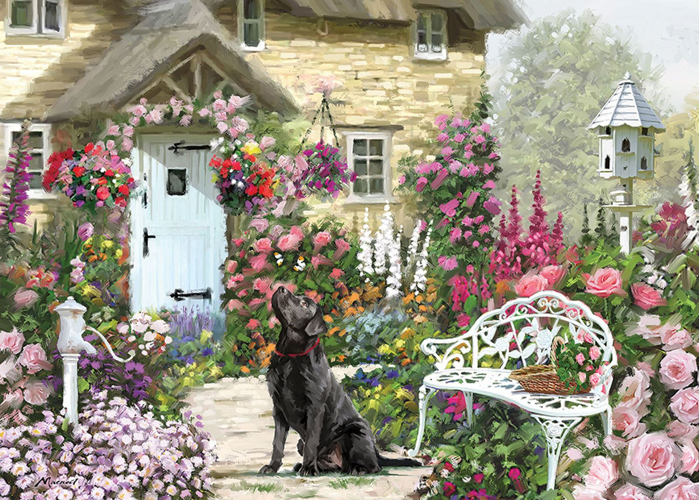 Cottage Garden 1000 Piece Jigsaw Puzzle