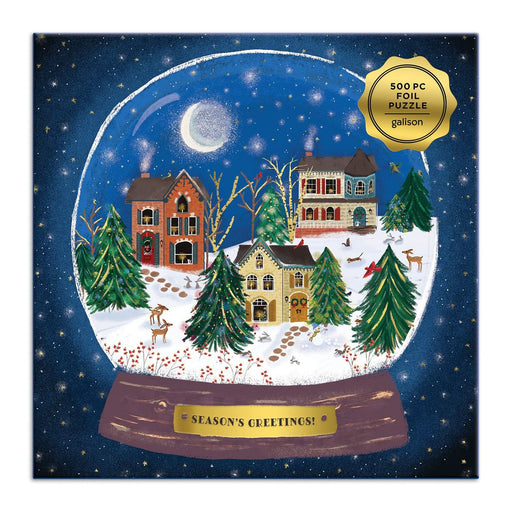 Winter Snow Globe 500 Piece Jigsaw Puzzle