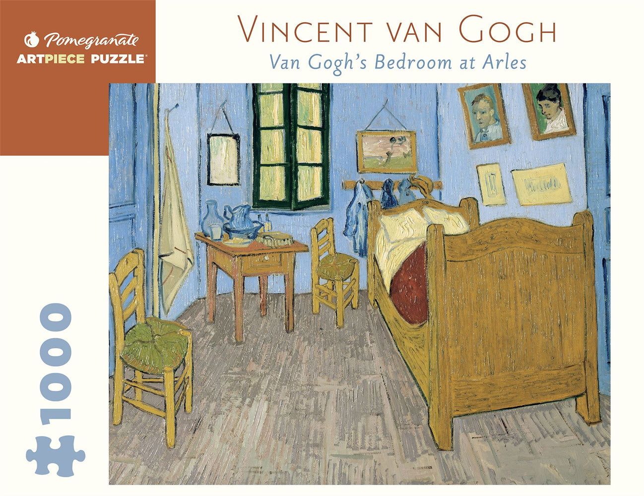 Vincent van Gogh: Van Gogh's Bedroom at Arles 1000 Piece Jigsaw