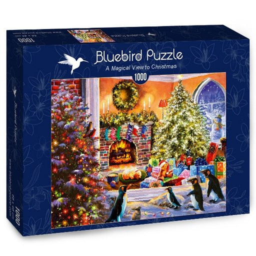 A Magical View to Christmas 1000 Piece Jigsaw Puzzle box