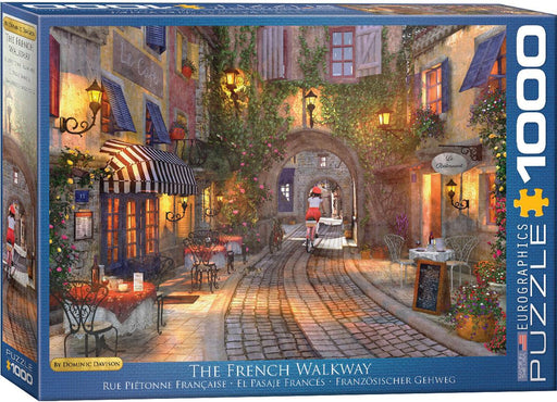 The French Walkway - Dominic Davison 1000 Piece Jigsaw Puzzle - All Jigsaw Puzzles