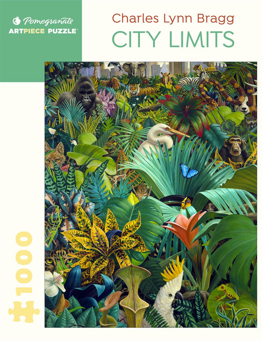 Charles Lynn Bragg: City Limits 1000 Piece Jigsaw