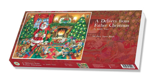 A Delivery from Father Christmas 1000 or 500 Piece Jigsaw Puzzle - All Jigsaw Puzzles