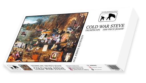 Cold War Steve - Trumpscape 1000 Piece Jigsaw Puzzle BOX