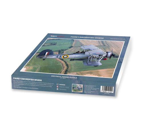 Fairey Swordfish - Navy Wings 500 Piece Jigsaw Puzzle - All Jigsaw Puzzles