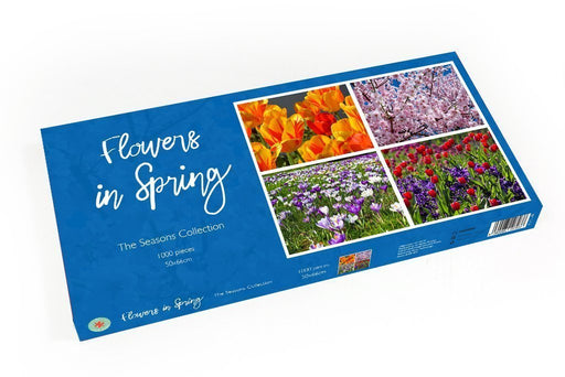 Flowers in Spring 1000 Piece Jigsaw Puzzle - All Jigsaw Puzzles