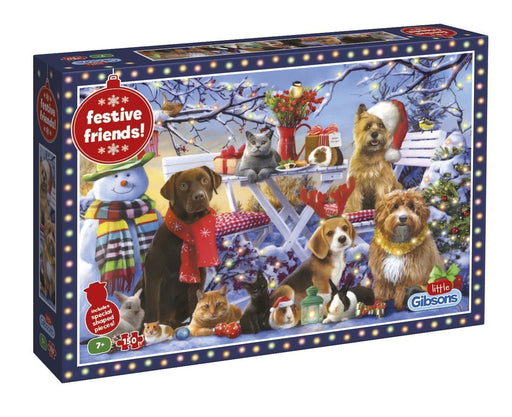 Festive Friends 150 Piece Jigsaw Puzzle - All Jigsaw Puzzles