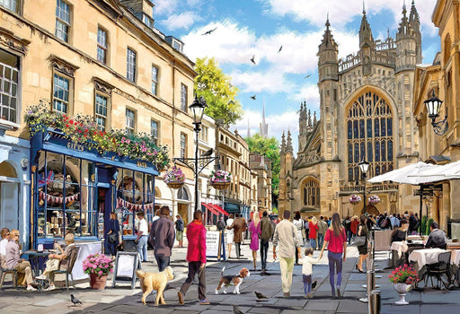 Bath 500 Piece Jigsaw Puzzle - All Jigsaw Puzzles