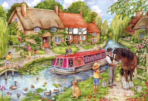 Drifting Downstream 500 Piece Jigsaw Puzzle - All Jigsaw Puzzles