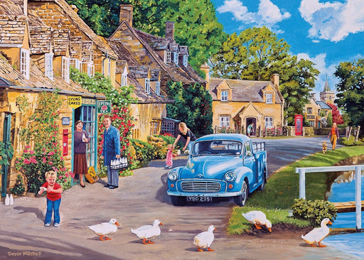 Morning Delivery 500XL Piece Jigsaw Puzzle