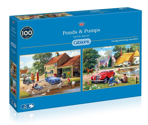 Ponds & Pumps 2 x 500 Piece Puzzle - All Jigsaw Puzzles