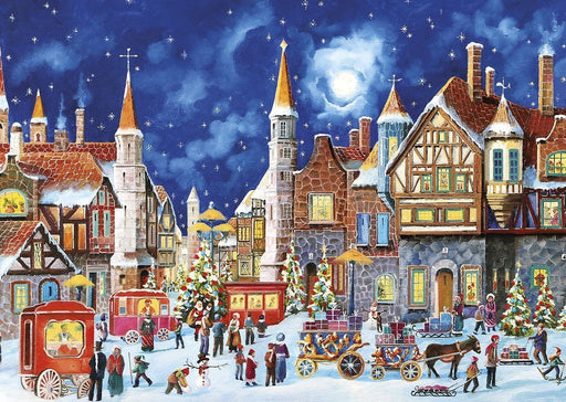Yuletide Deliveries 2 x 500 Piece Jigsaw Puzzle