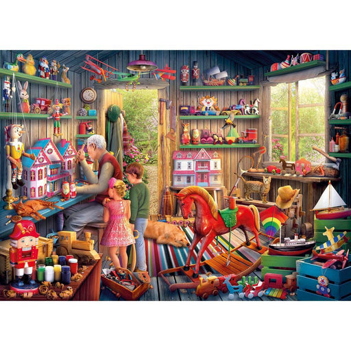 Toymaker's Workshop 1000 Piece Jigsaw Puzzle - All Jigsaw Puzzles
