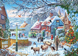 A Winter Stroll 1000 Piece Jigsaw Puzzle - All Jigsaw Puzzles