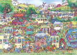 Caravan Chaos 1000 Piece Jigsaw Puzzle - All Jigsaw Puzzles