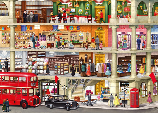 Retail Therapy 1000 Piece Jigsaw Puzzle