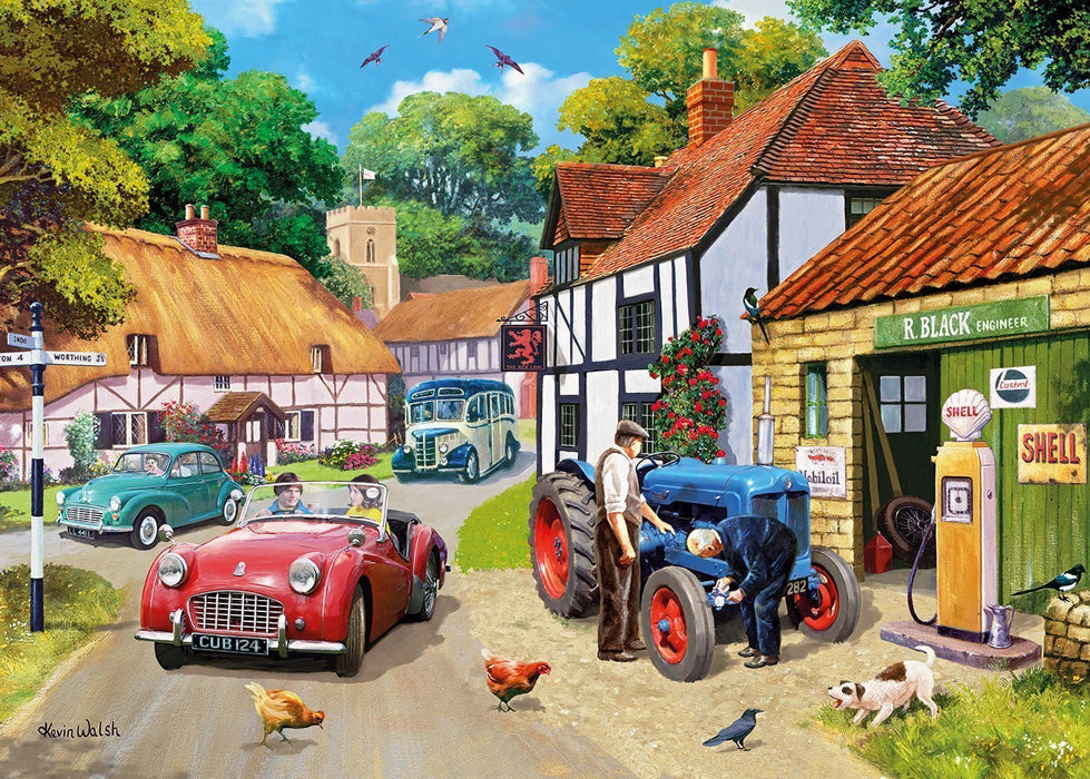 Running Repairs 1000 Piece Jigsaw Puzzle - All Jigsaw Puzzles