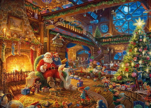 Santas Workshop Thomas Kinkade 1000 Piece Jigsaw Puzzle - All Jigsaw Puzzles