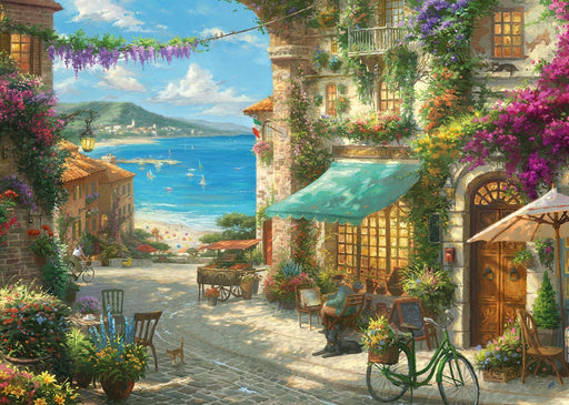 Italian Cafe Thomas Kinkade 1000 Piece Jigsaw Puzzle - All Jigsaw Puzzles