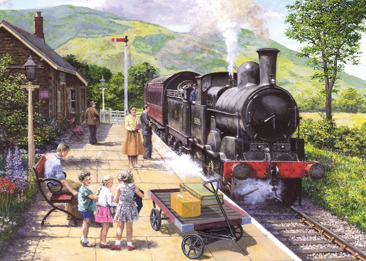 All Aboard to Keswick 1000 Jigsaw Puzzle - All Jigsaw Puzzles