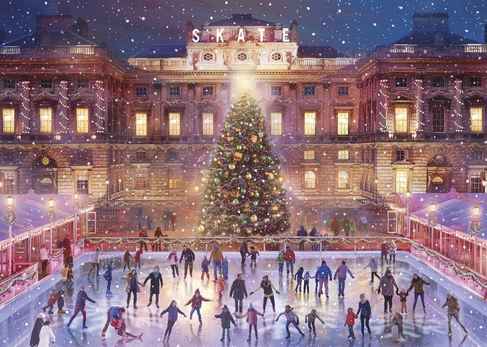 Skating at Sunset 1000 Piece Jigsaw Puzzle - All Jigsaw Puzzles