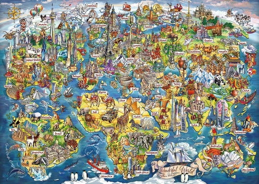 Wonderful World 1000 Piece Jigsaw Puzzle - All Jigsaw Puzzles