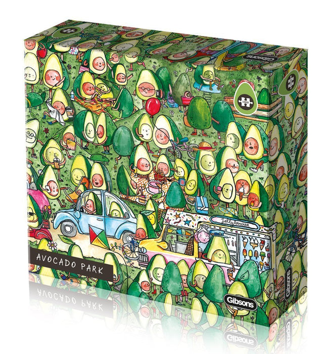 Avocado Park 1000 Piece Jigsaw Puzzle - All Jigsaw Puzzles