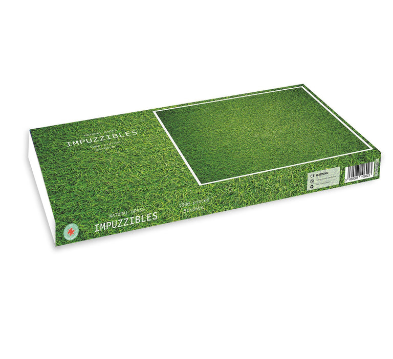 Natural Grass - Impuzzible - 1000 piece jigsaw puzzle - All Jigsaw Puzzles