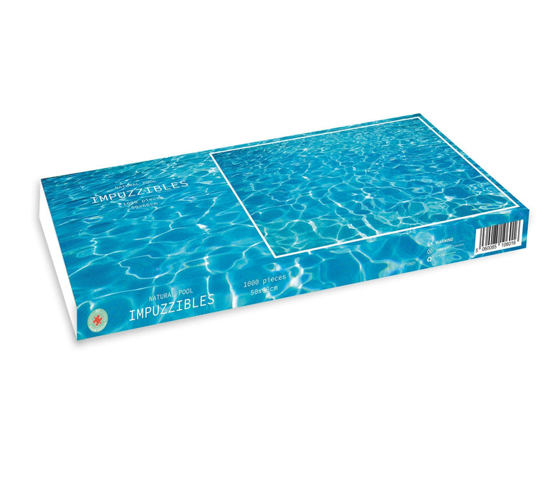Natural Pool -  Impuzzible - 1000 piece jigsaw puzzle - All Jigsaw Puzzles