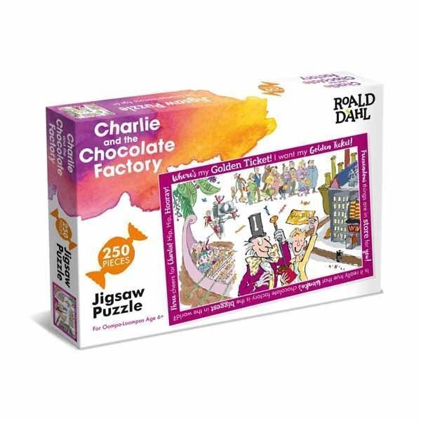 Charlie and the Chocolate Factory - 250 Piece Jigsaw Puzzle - All Jigsaw Puzzles