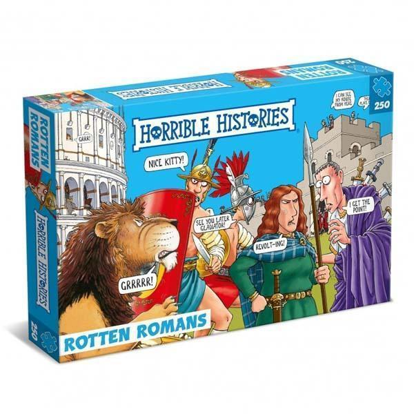 Rotten Romans - 250 Piece Jigsaw Puzzle - All Jigsaw Puzzles