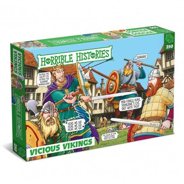 Vicious Vikings - 250 Piece Jigsaw Puzzle - All Jigsaw Puzzles