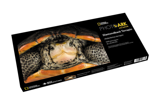 Diamondback Terrapin 1000 Piece Jigsaw Puzzle - National Geographic Photo Ark - All Jigsaw Puzzles
