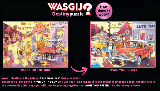 Wasgij Destiny 19 The Puzzlers Arms 1000 Piece Jigsaw Puzzle - All Jigsaw Puzzles