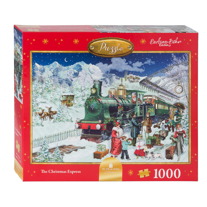 The Christmas Express - Coppenrath 1000 Piece Jigsaw Puzzle box