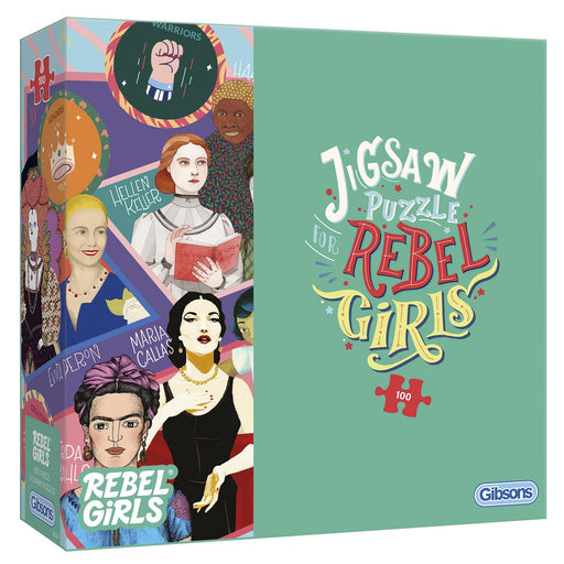 Rebel Girls 100 or 500 Piece Jigsaw Puzzle - All Jigsaw Puzzles
