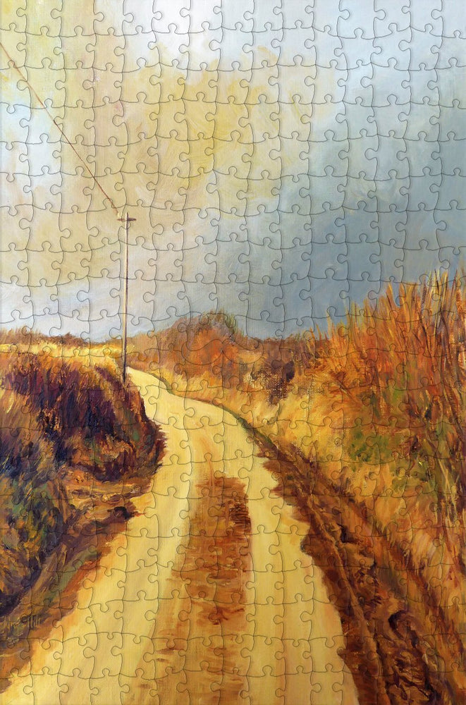 Approaching Storm 300 Piece Wooden Jigsaw Puzzle - All Jigsaw Puzzles