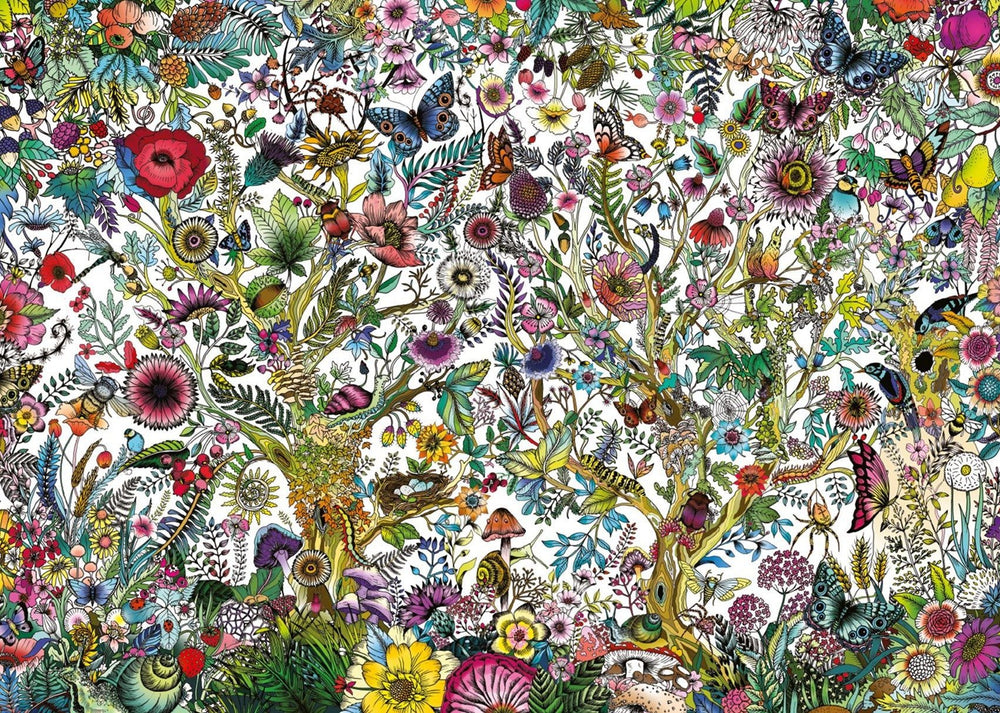 Falcon Contemporary Flora and Fauna 1000 Piece Jigsaw Puzzle