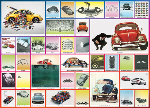 The VW Beetle 1000 Piece Jigsaw Puzzle