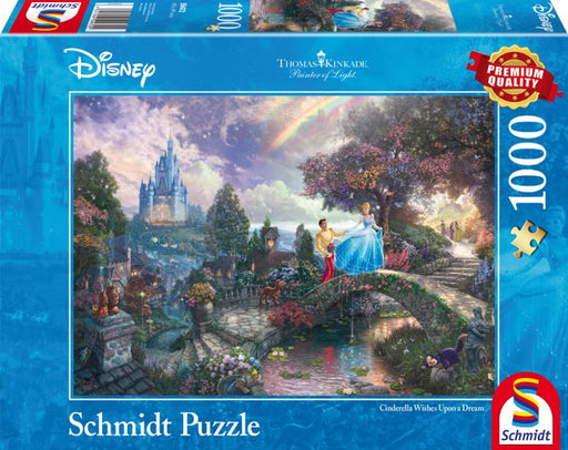 Thomas Kinkade - Disney Cinderella 1000 Pieces - All Jigsaw Puzzles